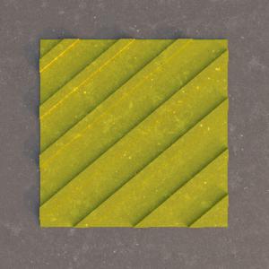 Тактильная плитка Бетон диагональный риф