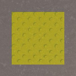 Тактильная плитка Бетон шахматный конус