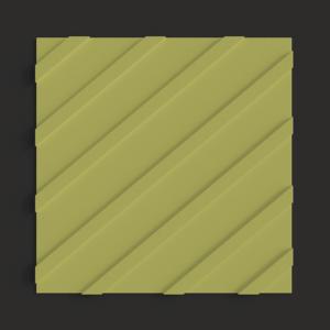Тактильная плитка ПВХ диагональный риф
