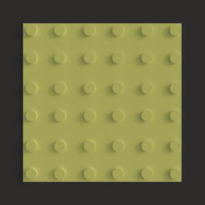 Тактильная плитка ПВХ линейный конус