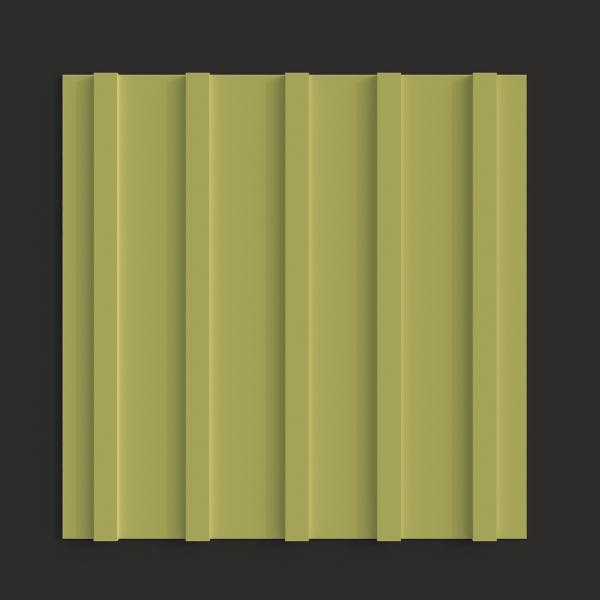 Тактильная плитка ПВХ продольный риф