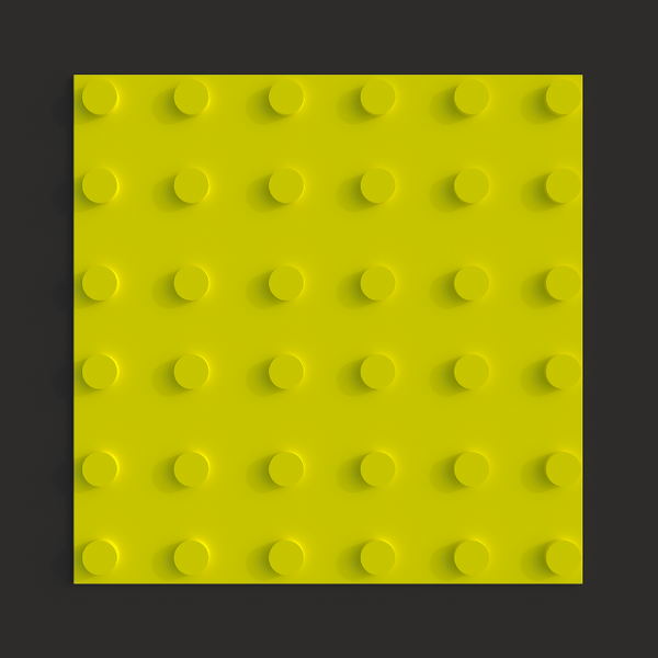 Тактильная полиуретановая плитка линейный конус