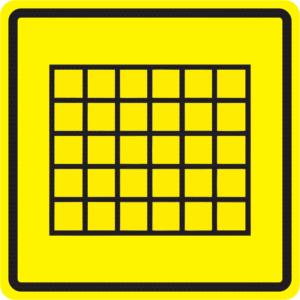 Тактильные пиктограммы табло