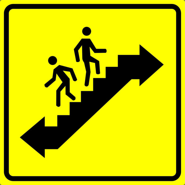 Тактильная пиктограмма для инвалидов - Пути эвакуации