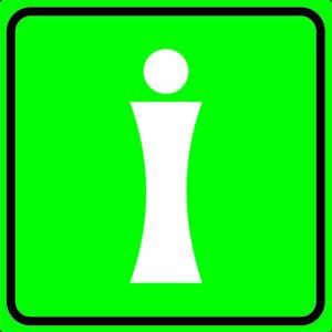 Тактильная пиктограмма - Информация, место расположения мнемосхемы