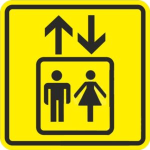 Пиктограмма лифт