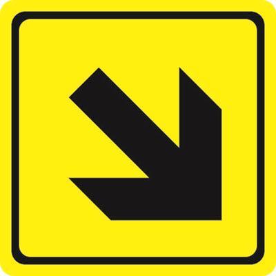 Пиктограммы направление движения вниз