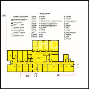 план здания, мнемосхема